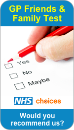 Would you recommend Chadsmoor Medical Practice to Friends and Family?